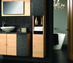 Java Sanded Oak Bathroom Design