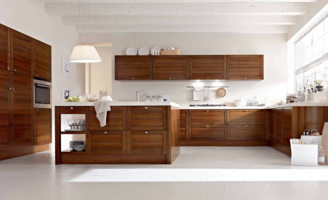 Villanova Wooden Classic Kitchen