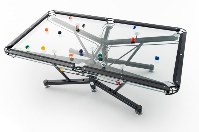 G-1 Glass Pool Table