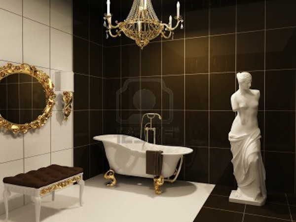 10350709-luxurious-furniture-with-statue-of-venus-in-baroque-bathroom