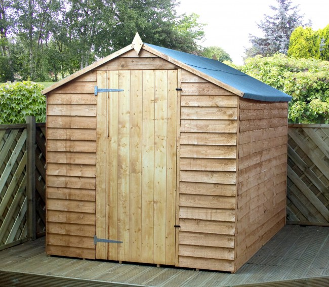 warwick overlap windowless shed