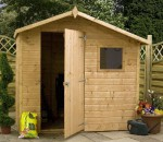 windsor shiplap offset apex shed