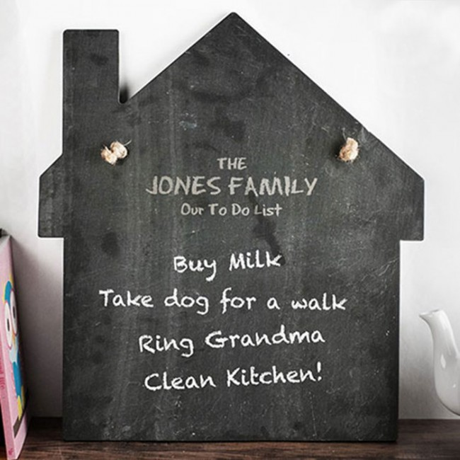 personalised large house slate