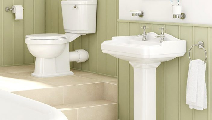 legend victoriana bathroom suite