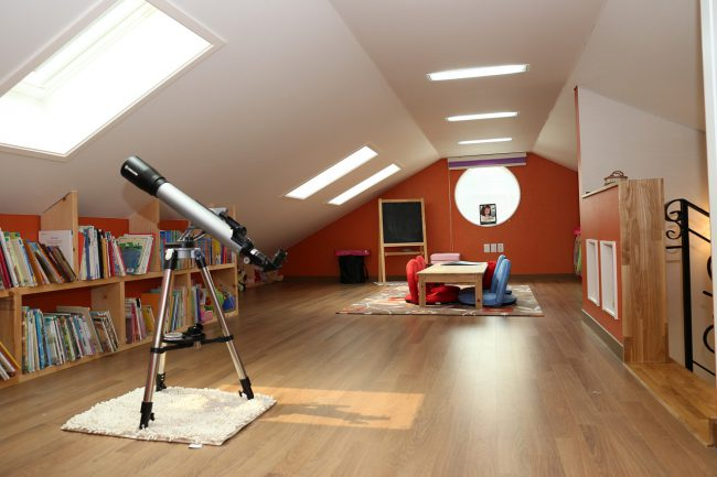 home attic conversion ideas