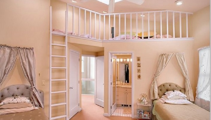 Charming and Classic Style Bedroom Idea for Girls