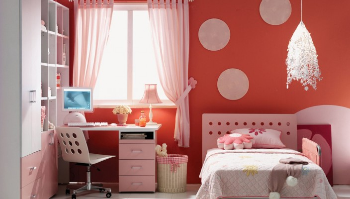 The Pink the perfect colour for a girl kid room