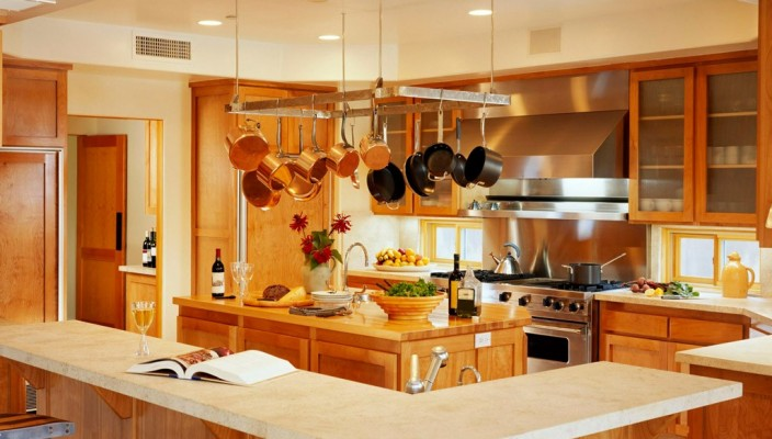 Modular kitchen enables you to be more versatile