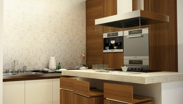Contemporary modular kitchens