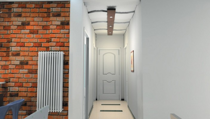 House Interior Design - The Brick Wall Effect