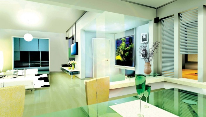 Refined impression with soothing interior
