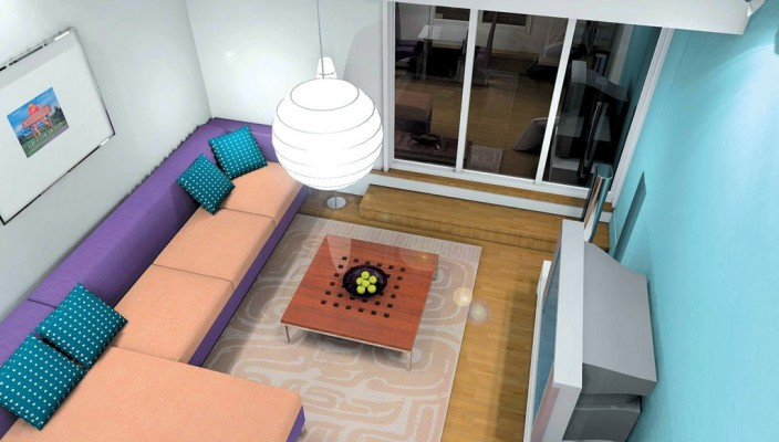 Imaginative and well worked room