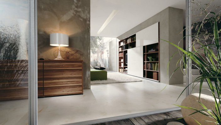 House interior with brilliance