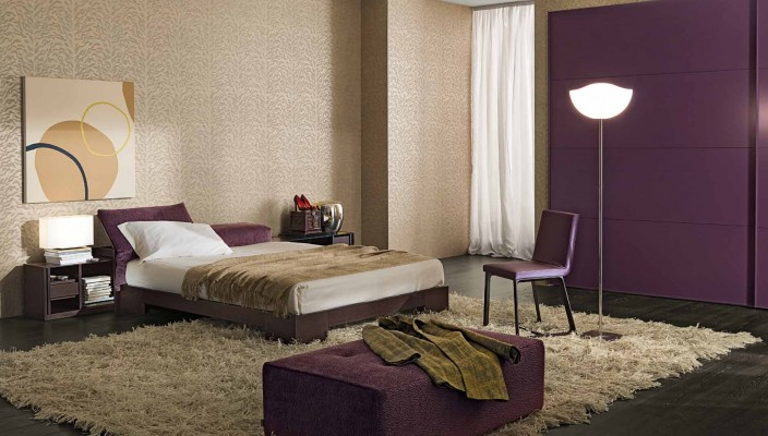 Rich themes of a modern bedroom
