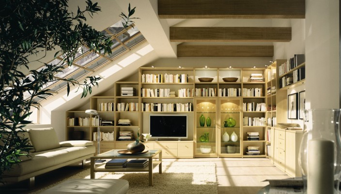 A well designed living room