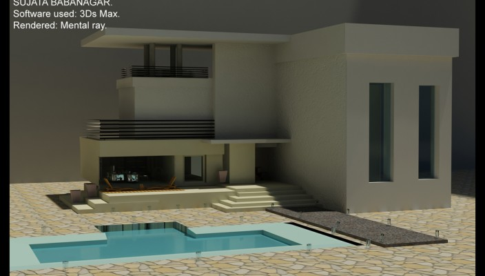 A Well Planned Modern House Exterior