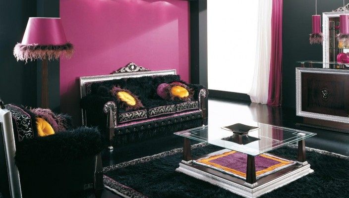 Use contrasting colors with black for creating a great theme