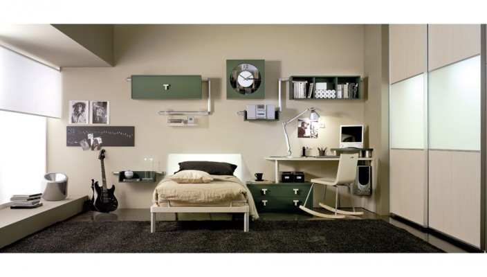 Move on to an elegant design for your teen's bedroom
