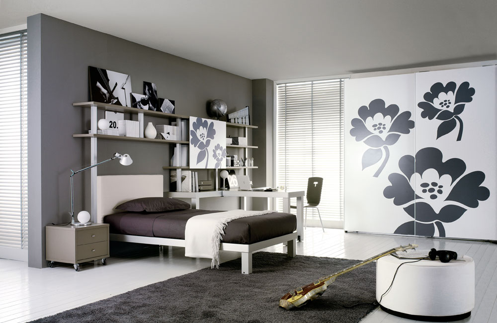 Interior Exterior Plan | Compromise with your teen on one ... on Teenage Grey Small Bedroom Ideas  id=88713