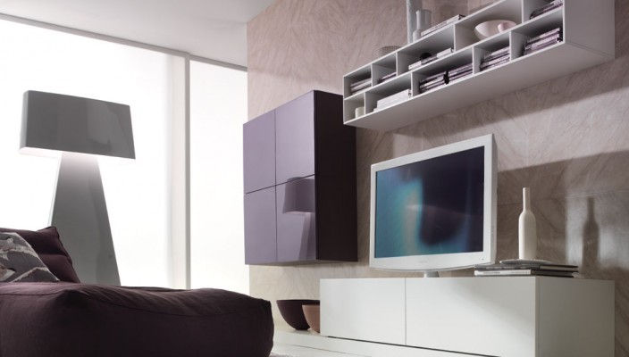 Add a design decor or element to your living room