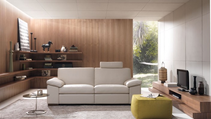 The Bright texture living area