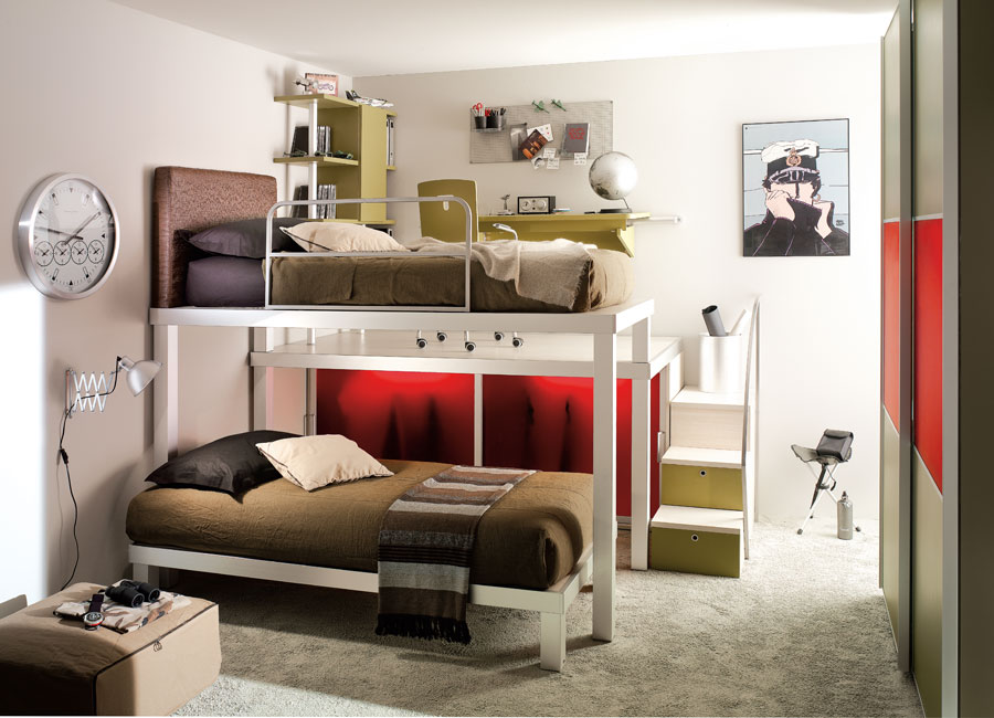Interior Exterior Plan Use Bunk Beds For Your Teens