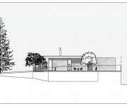 salvado street residence east elevation