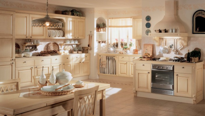 Classic interiors for the modern kitchenv