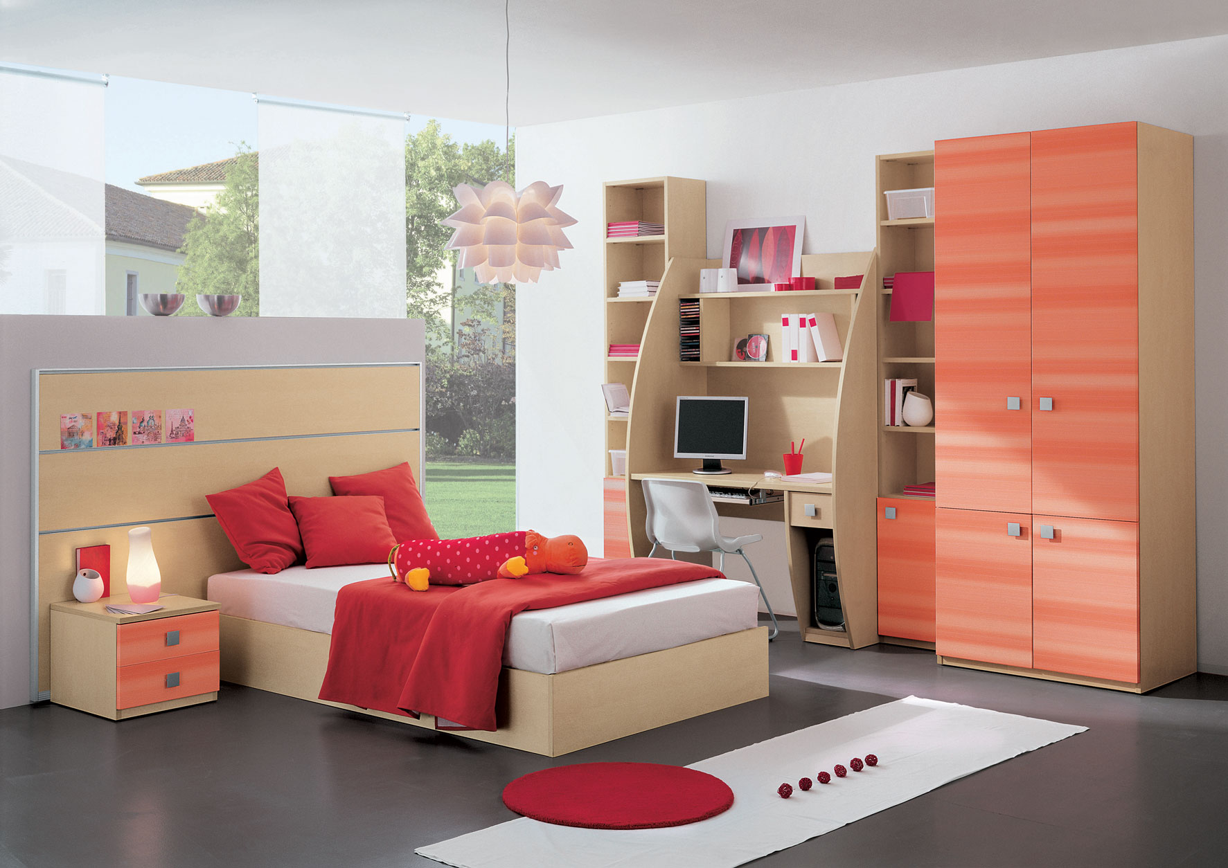 Interior Exterior Plan | Colorful bedroom idea for the kids