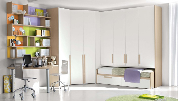 Perfect kid's bedroom idea for large spaces