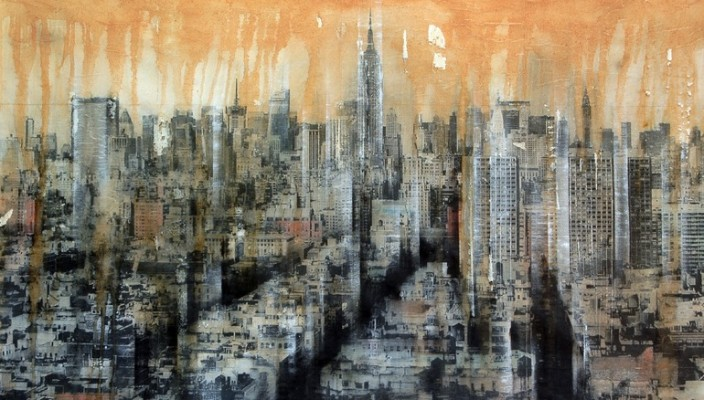 new york feng shui painting