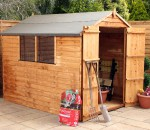 warwick overlap apex shed