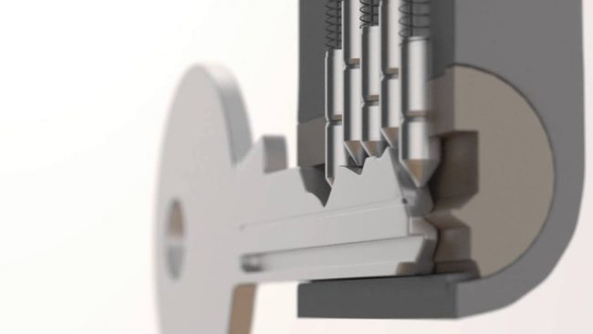 pin and tumbler lock